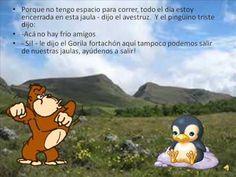 Cuento animales de la selva para niños