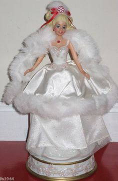 1989 Happy Holidays Barbie Doll | Barbie Collector Dolls *SPECIAL OCCASION