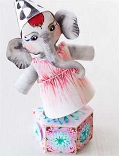 Circus Paper Crafts with Printables