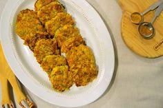 Ponto de Rebuçado Receitas: Bolinhos de peixe e legumes com especiarias