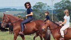 Ann Romney Evokes the Ways of Horsewoman Jacqueline Kennedy