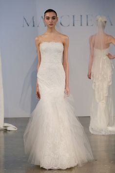 Marchesa SS14 bridal collection.  Image: Getty