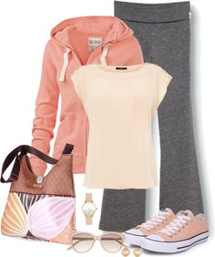 """Sports Mom Weekend"" by kp802 ❤ liked on Polyvore"