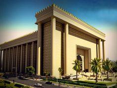 O templo de Salomão, projeto da Igreja Universal do Reino de Deus em São Paulo