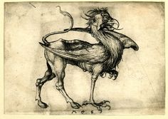 Print made by Martin Schongauer  1470-1482