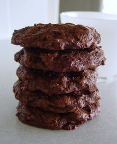 C is for Chewy Chunky Chocolate Cookies