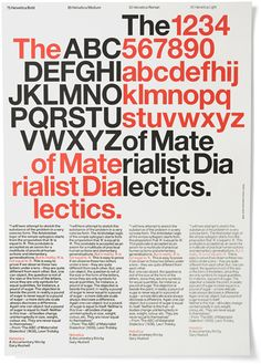 Artsy idea: have a whole bunch of letters but highlight certain letters to create your title. experimental_jetset_trotsky