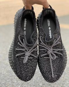 """09eabfb01a227 EARLYCOP on Instagram: """"Adidas Yeezy 350 V2 Static Triple Black. Comment  your size 👇. - Follow @earlycop. - #hypebeast #hypebae #hype #hypelife ..."""