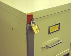Universal File Cabinet Multi Locks Security Locking Bars Tumbler, Locks,  Chicago, Key Change
