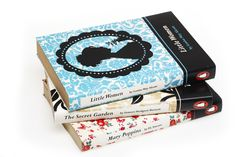 Penguin book covers by www.sarahshrapnel.com