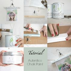 Tutorial Chalk Paint