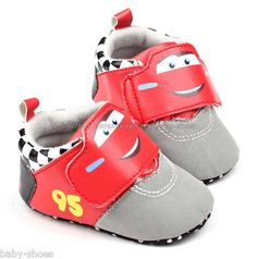 a11ca5160e6a Toddler Baby Boy Cars Walking Shoes Sneakers Size 0-6 6-12 12-18 Months