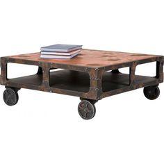 c8b16de199763 Karedesign Table basse carrée Manufactur Kare Design
