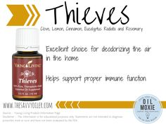 Thieves essential oil    For more information on ordering this oil-->www.aprilmasterson.com