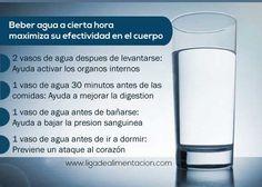 Beneficios del Agua #Salud