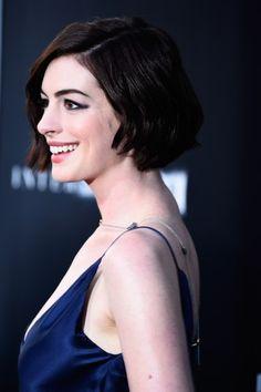 Cortes de cabelo 2015 - Anne Hathaway