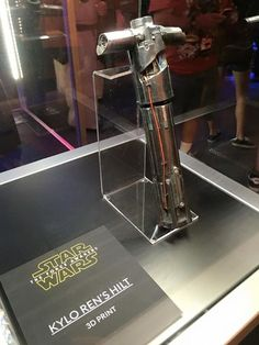 So cool! Klyo Ren's weapon from 'Star Wars: The Force Awakens.'