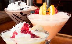 Groupon - Two Ice-Cream Martinis, or $ 11 for $ 20 Worth of Food and Ice-Cream Cocktails at The Fountain On Locust (Up to 45% Off). Groupon deal price: $11.00
