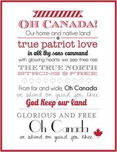 Canada Day Home Decor Printables Instagram Sign Canada Day