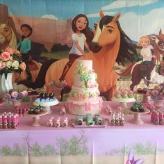 2nd Birthday Party For Girl, Horse Birthday Parties, Baby Birthday, Birthday Decorations, Birthdays, Floor Mats, Floor Vases, Horse Birthday, 4th Birthday Parties