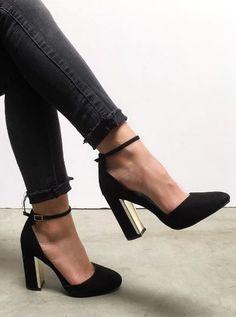 35 High Heel Shoes You Need To Try. Black Prom HeelsShoes Heels BlackBlack  Strap HeelsWomen s ... e301feec1658