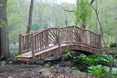 'The Birdoff Bridge'  (16' long x 4' wide)  - Built in 2008 this bridge was built for a client in Chappaqua, NY.