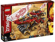 Shop LEGO Ninjago Land Bounty 70677 at Best Buy. Find low everyday prices and buy online for delivery or in-store pick-up. Katana, Shop Lego, Buy Lego, Shuriken, Lego Ninjago Minifiguren, Boutique Lego, Ninja Action Figures, Figurine Lego, Lego System