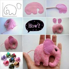 Use this tutorial to make a DIY elephant mobile