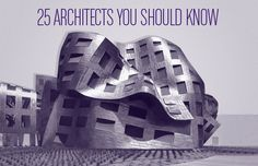 Take a crash course on who's who in modern architecture.
