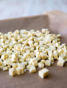 Raparperikakku | Reseptit | Kinuskikissa Krispie Treats, Rice Krispies, Feta, Cheese, Desserts, Deserts, Dessert, Postres, Rice Krispie Treats