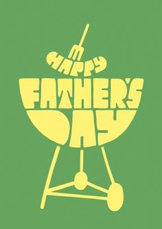 BBQ Fathers Day Card £2.99 | Every dad loves burning food on the barbeque, so send them this very appropriate Fathers Day Card