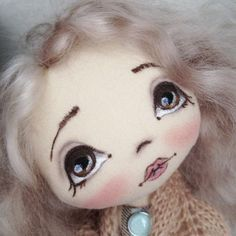 Эта малышка свободна, ищем маму и  #кукла #куколка #куклаизткани #куклакупить #ручнаяработа #doll #artdoll