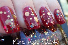 Nabi Mix Big Glitter ~ More Nail Polish