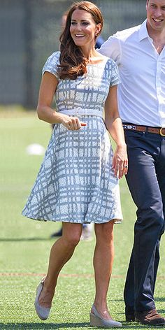 KATE MIDDLETON photo | Kate Middleton  I'm not digging the shoes, but I looooove the dress.