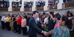 Reconoce Gobernador de Jalisco a familias donadoras de vida