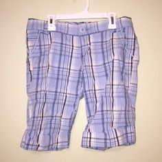 Plaid Shorts. Never Worn. Mid-thigh in length. Mossimo Supply Co Shorts Bermudas