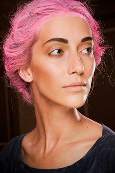 Coloured Hair Inspiration From Bleach Salon London And Thakoon