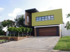 nice Simple Minimalist Home Exterior With 3 Colors - Stylendesigns.com!
