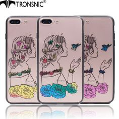 Fitted Cases Aspiring Cover Phone Case For Apple Iphone 6 6s I6 6 Plus 6p 6splus Luxury 3d Handmade Embroidery Design Unicorn Hard Pc Tpu Border Shell Phone Bags & Cases