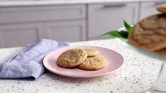Thick and chewy sugar cookies are made with brown sugar for deep caramel flavor. The recipe is a Yummly original created by Sara Mellas. Brown Sugar Cookie Recipe, Brown Sugar Cookies, Ginger Cookies, Sugar Cookies Recipe, Baking Recipes, Cookie Recipes, New Recipes, Dessert Recipes, Desserts