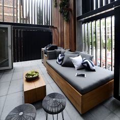 On The Block triple Threat last night we saw the final room reveals. the Terraces. Small Backyard Landscaping, Backyard Pergola, Wooden Pergola, Pergola Kits, Pergola Ideas, Landscaping Ideas, Outdoor Balcony, Outdoor Rooms, Outdoor Kitchens