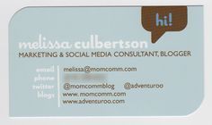 This is the final post of my Bloggy B-Card Series! If you haven't yet, be sure to catch up on the other posts: What to Put on a Blogger Business Card, If That's Your Business Card, I Can't Wait to See Your Blog, Seven Trends in Blogger Business Cards and QR Code Ideas for Business Cards. Drum …