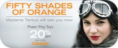 #50shadesoforange @tantus Shop using the links in my blog post http://sapphireraystoychest.weebly.com/blog/forget-50-shades-of-grey-tantus-has-50-shades-of-orange or by clicking here:https://tantus.refersion.com/l/995.16423