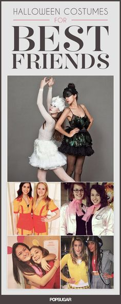 No Boys Allowed: 30 Duo Costumes to Rock With Your BFF #bestfriends #halloween