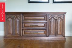 Before & After: From '70s Clunker to Classy Credenza