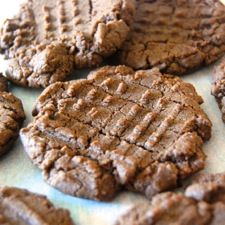 A simple twist turns classic peanut butter cookies into elegant chocolate-hazelnut cookies.
