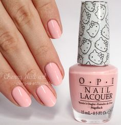 Vernis OPI Small + cute = ♥ collection Hello Kitty