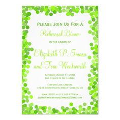 Discount DealsConfetti Wedding Rehearsal Dinner Invitationstoday price drop and special promotion. Get The best buy