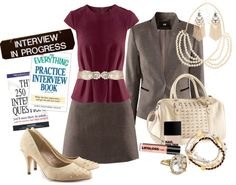 """""""Professional Attire on a Budget"""" by renamichelle on Polyvore"""