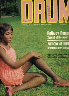 Yenkassa - Ghana Life: Photo DRUM - Africa's leading magazine, Ghana Edition The leading Fashion and lifestyle magazine in the Proud, beautiful ladies looking noble and comfortable in their skin. Drum Magazine, Jet Magazine, Black Magazine, Vintage Magazines, Vintage Photos, Ebony Magazine Cover, Magazine Covers, Life In The 1950s, Beautiful African Women